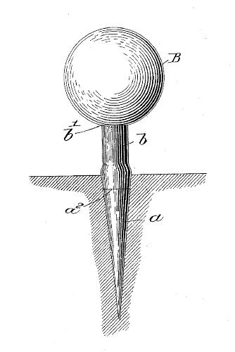 george-grant-golf-tee-patent