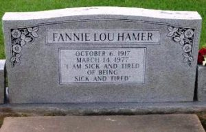 Fannie's Gravestone. Copyright July 2015, James McKissic